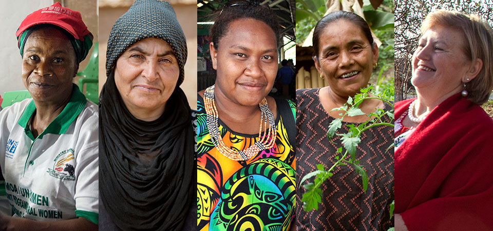 Rural women from around the world
