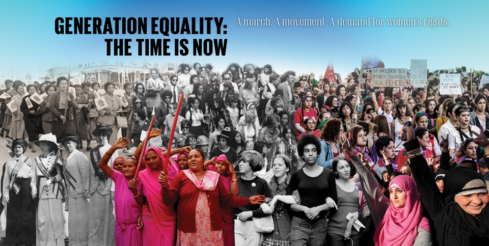 Generation Equality: The time is now