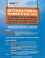 International Women's Day invitation