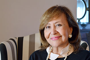 Sahar el-Salab, arguably the most successful woman in the Egyptian banking sector, is currently CEO of a family business and a member of the Arab Network for the Economic Empowerment of Women (Khadija)—a regional network of representatives of social, public and private sectors, supported by UN Women and the European Union. Photo: UN Women/Amna Magdy