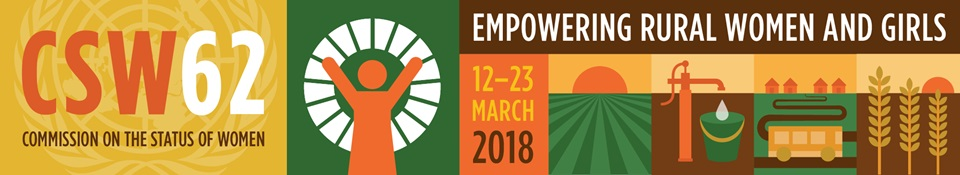 CSW62: Empowering rural women and girls