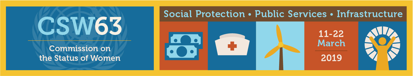 CSW63: Social Protection, Public services, Infrastructure