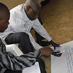 The Rwanda Men's Resource Centre trains men to change negative and violent behaviour. Photo: RWAMREC