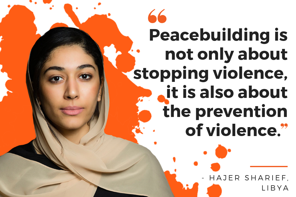 """Peacebuilding is not only about stopping violence, it is also about the prevention of violence."""
