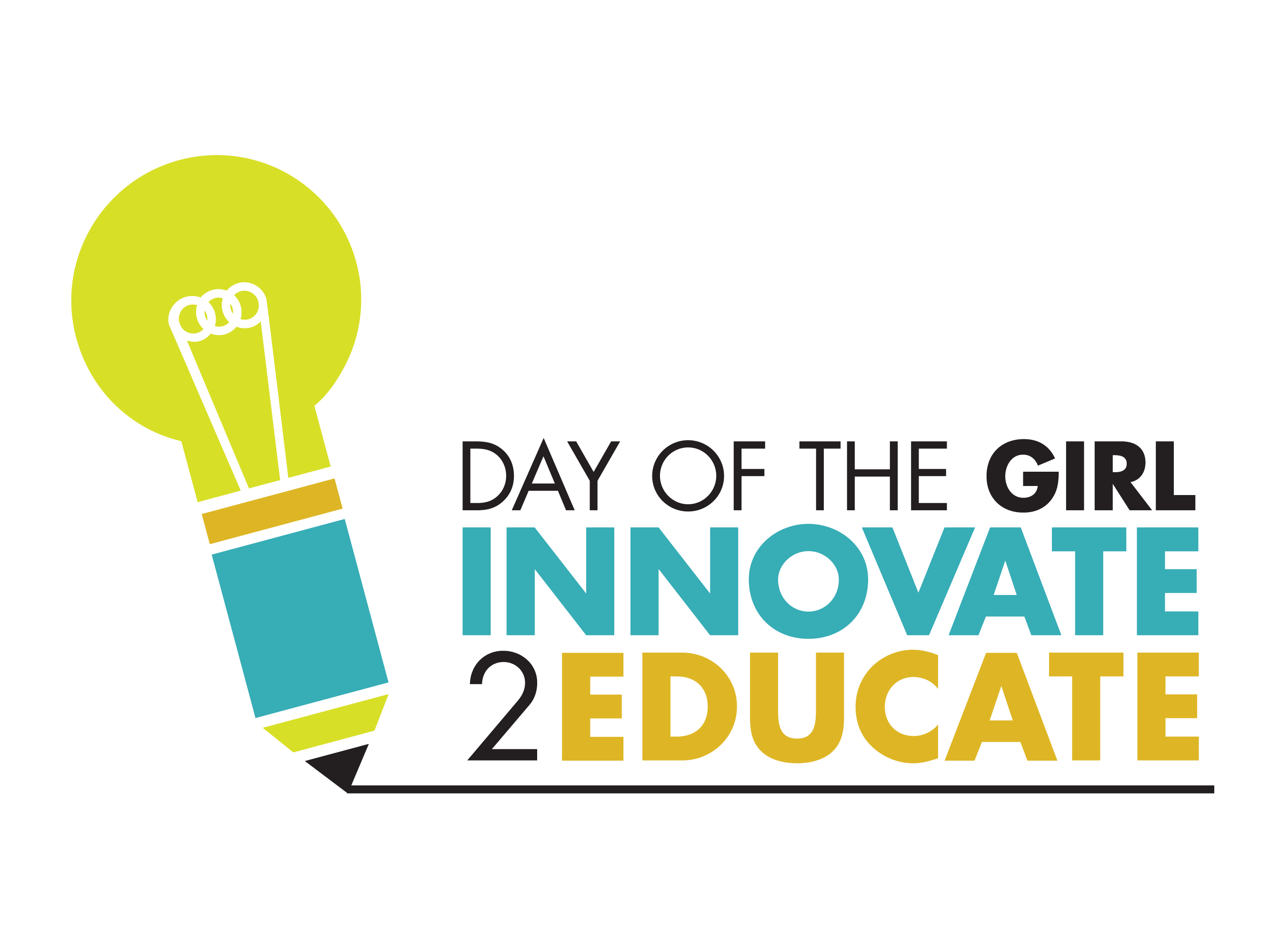 Day of the Girl logo - Innovate 2 Educate