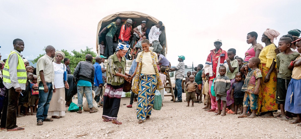 Nahimana Fainesi (Finess), 30, fled her native Burundi in July 2015 and has been living in the Lusenda refugee camp in Fizi, Democratic Republic of Congo, which is home to more than 16,000 refugees, the majority of which are women and girls. Photo: UN Women/Catianne Tijerina