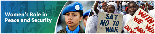 Women's Role in Peace and Security