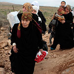 Syrian refugees flood into Jordan