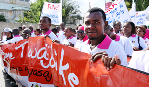 In Tanzania, a caravan of activists visits five regions over eight days on a journey to end violence against women