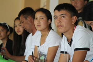 Coming of age, youth become gender equality champions in Kyrgyzstan