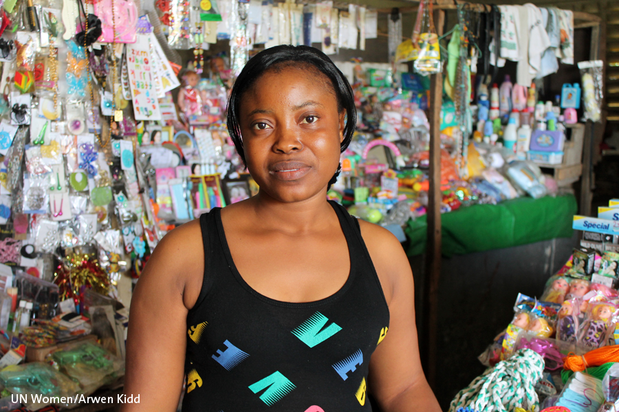 At the frontlines, Liberian women adopt new strategies in Ebola response