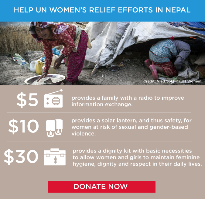 Nepal Earthquake donate