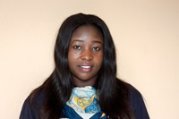 Edith Chukwu, 29, is among a team of lead Girl Guides trainers in Zambia for a workshop. Photo: UN Women/Urjasi Rudra