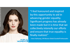 UN Women announces Anne Hathaway as Goodwill Ambassador
