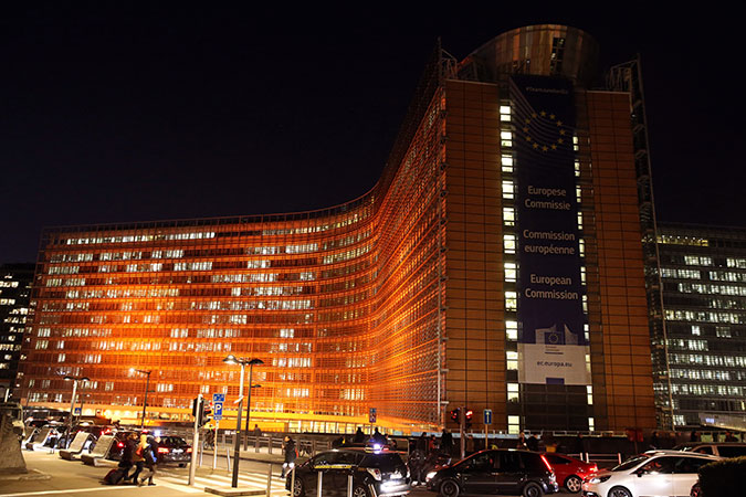 The Berlaymont building in Brussels, Belgium. Photo: EU/Francois Walschaerts