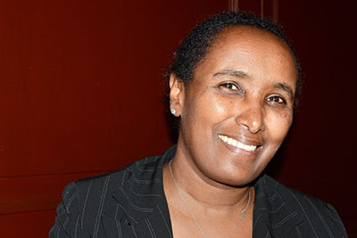 Berhane Daba, a founding member of the National Association of Women with Disabilities, Ethiopia in Nairobi, Kenya. Photo: UN Women/Rose Ogala