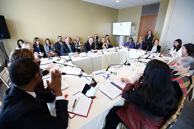 UN Secretary-General's High-Level Panel on Women's Economic Empowerment holds inaugural meeting