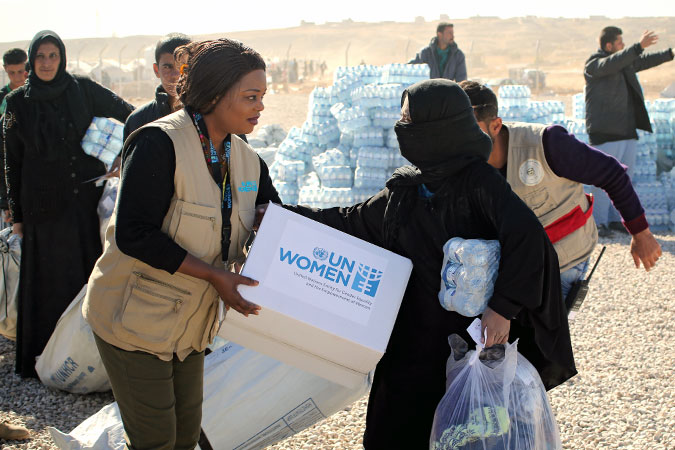 Voices for dignity: Providing assistance, amplifying the voices of women and girls fleeing Mosul