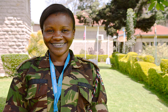 Training in Kenya boosts deployment of female military officers for peacekeeping