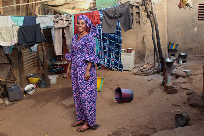 Assétou Touré is a 49-year-old woman from Mali and a survivor of FGM. UN Women Mali/Coumba Bah