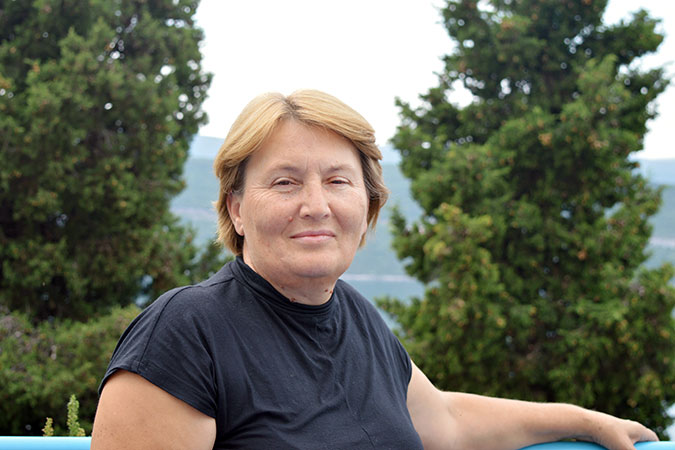 Nada Marković is a human rights activist from Bosnia and Herzegovina. Photo: UN Women
