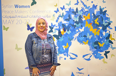 Marina El Hanash. Photo: UN Women/Emad Karim