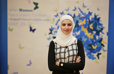 Rawan El Takriri. Photo: UN Women/Emad Karim