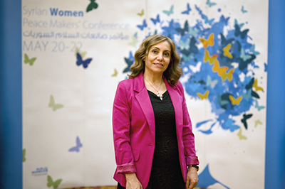 Rima Al Hakimi. Photo: UN Women/Emad Karim
