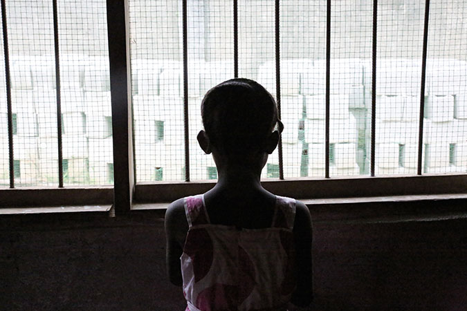 Majority of rape cases in Liberia are against minors and many survivors are left with life-long medical and psychosocial challenges. Photo: UN Women/Winston Daryoue