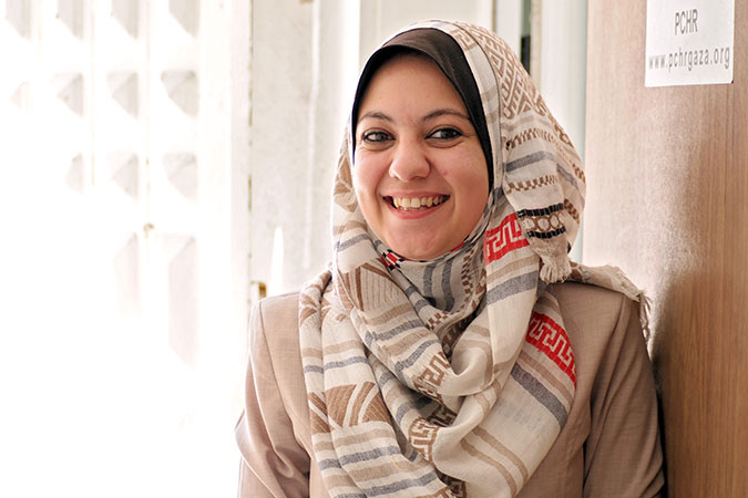 Standing up for survivors in the Shari'a court every day: Ayah al-Wakil is determined to leave no woman behind