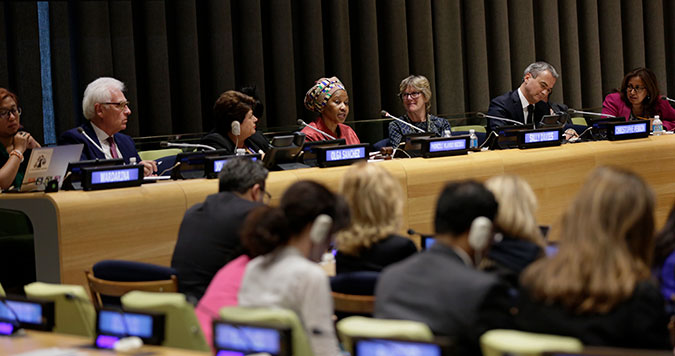 Women's economic empowerment is a pre-condition for sustainable development, say UN High-Level Panel members