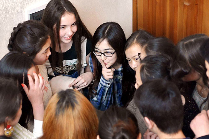 In Kyrgyzstan, youth are at the forefront of building peaceful communities