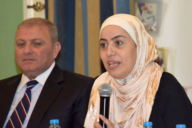 Wafa Saed Bani Mustafa, Jordanian MP, opens the first workshop on Legislative Drafting for Members of Parliament, organized by UN Women and the Jordanian National Commission for Women, in partnership with the General Secretariat, the Women and Family Affairs Committee, and the Women's Caucus of the Lower House on 3–4 August 2017. Photo: Jordanian National Commission for Women.