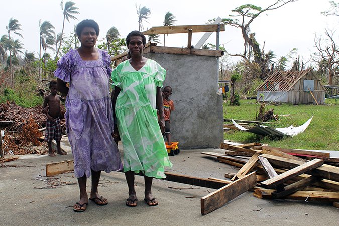 Placing Pacific women at the forefront of disaster planning and response
