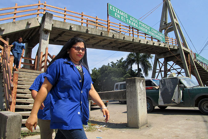 Textile workers in Honduras organize to defend their rights together
