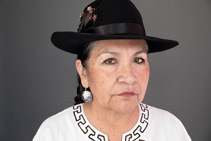 Tarcila Rivera. Photo: UN Women/Ryan Brown