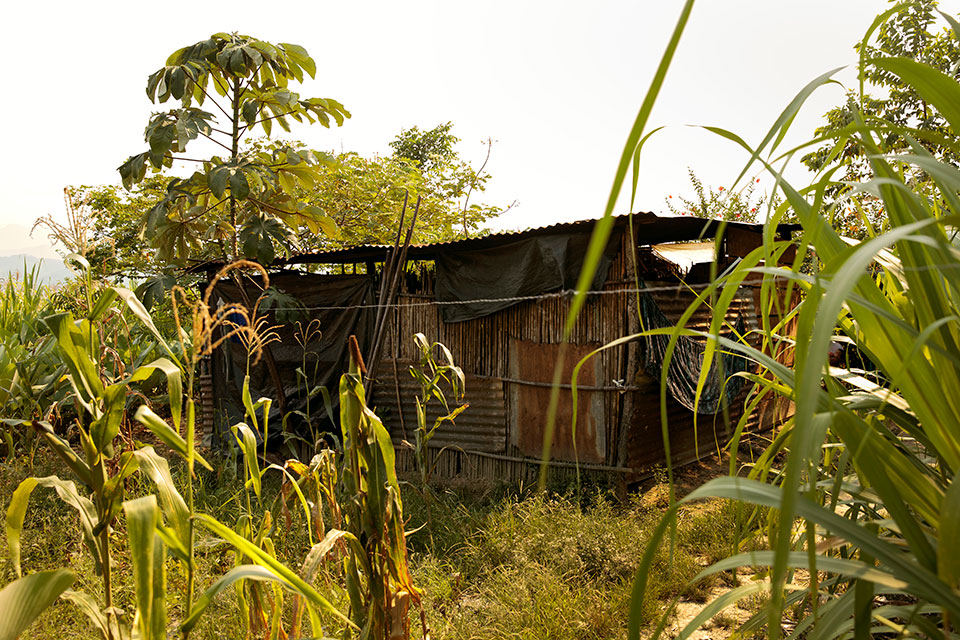 Felisa Cuc's home in Pombaac. Photo: UN Women/Ryan Brown