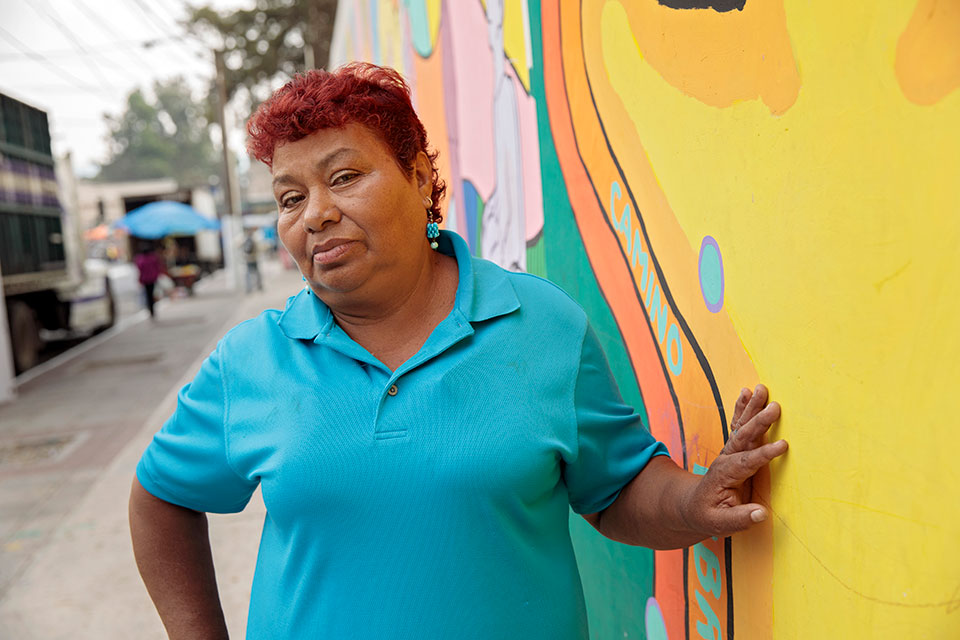 "<p> ""Five years ago, a man tried to grab my daughter on these streets. He cut her face with a scalpel. She still has scars,"" narrated Maria Fernanda Hernandez, a resident and community leader from Zone 18. ""I started working for this community to make it safer. </p>"