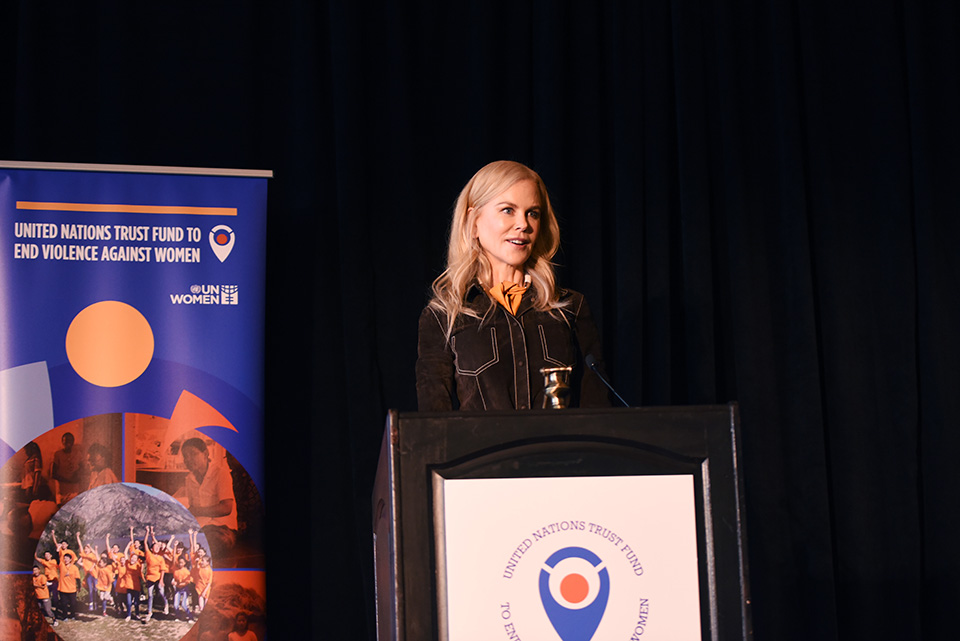 Press release: Bringing 16 Days of Activism campaign to a close, UN Women Goodwill Ambassador Nicole Kidman, survivors and activists spotlight solutions to end violence against women