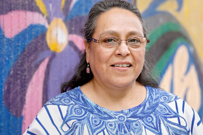 "In the words of Sandra Moran: ""Being the first openly lesbian Congresswoman in Guatemala has been a big responsibility"""