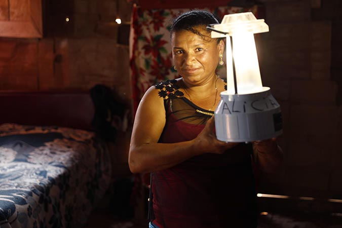 "From where I stand: ""I can build a solar lamp in twenty minutes"""