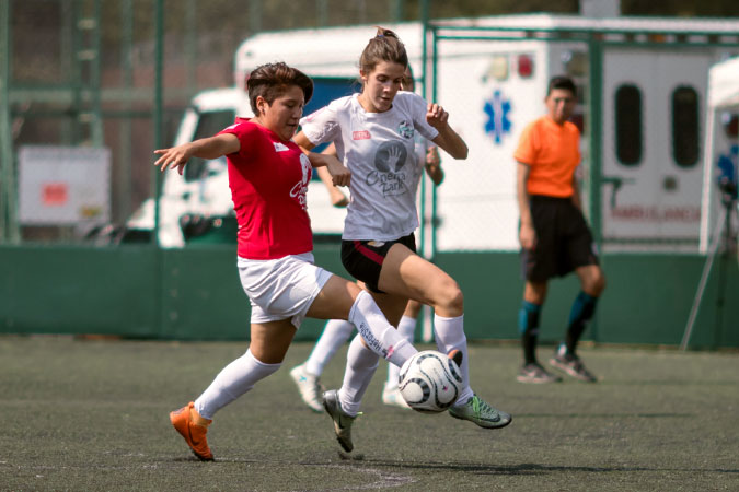 Soccer teams from universities in Mexico particpated in the HeForShe Flash Tournament. Photo: UN Women