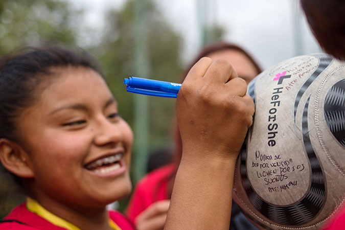 In Mexico, female soccer players take centre stage to break gender stereotypes
