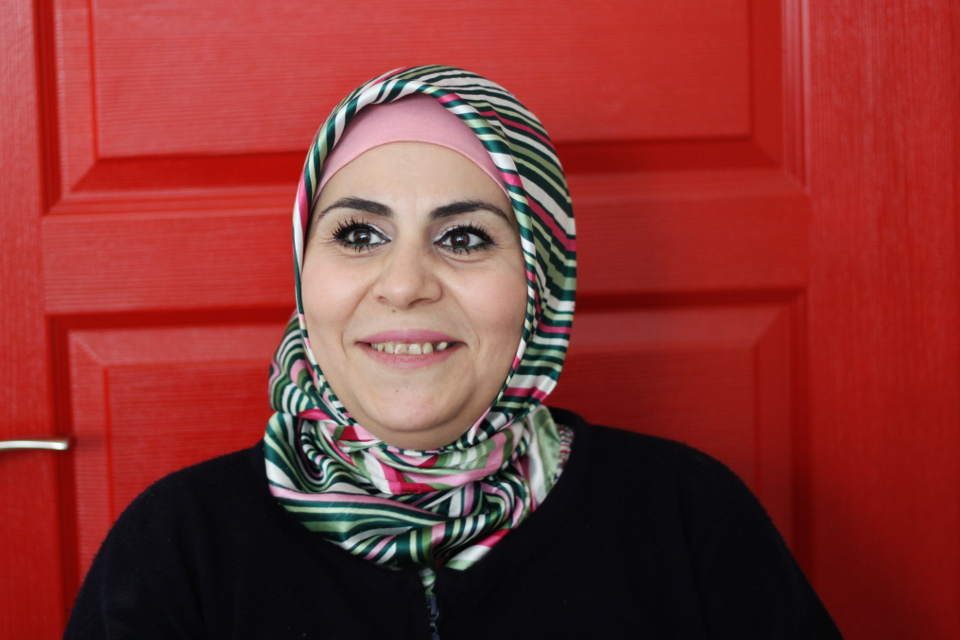 Nur Omar, beneficiary of SADA Women only center, Gaziantep, Turkey. Photo: UN Women/Sinem Aydin Lopez