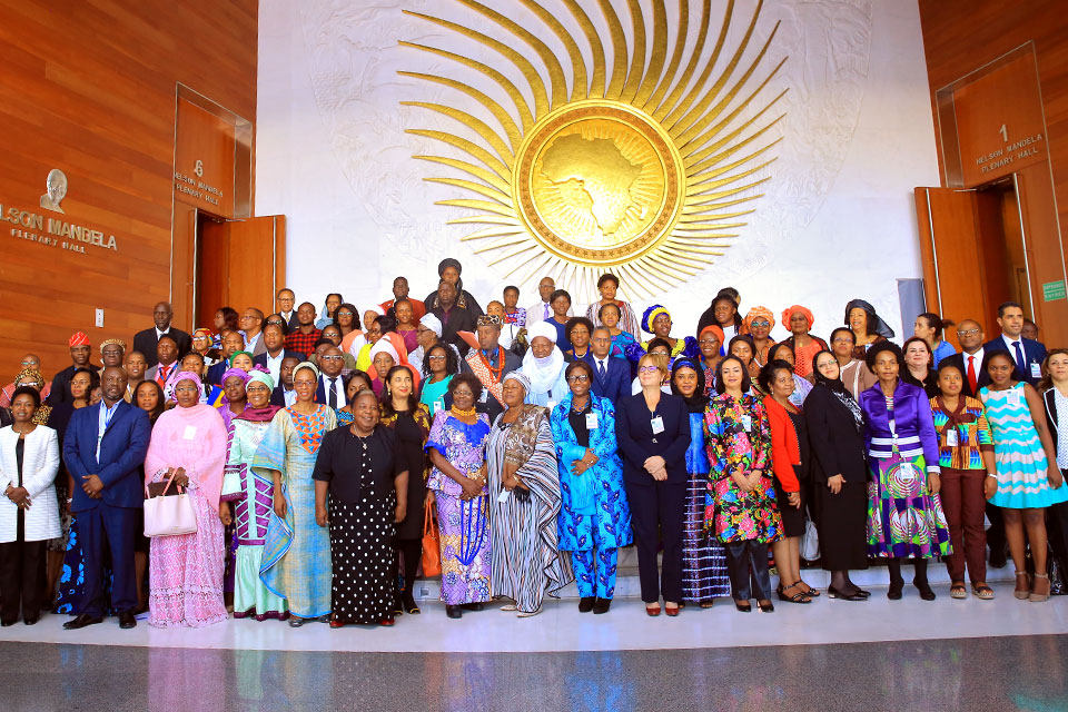 Participants in the Beijing+25 Regional Review in Addis Ababa, Ethiopia. Photo: UN Women