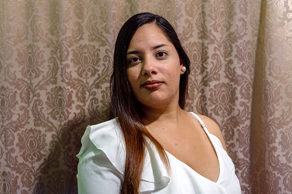 Zuneyka Dhisnays Gonzalez arrived in Barranquilla, Colombia in 2015 and began guiding fellow migrants online. Photo: UN Women