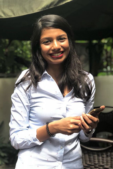 Namira Hossain is the founder of Cookups, an online platform that connects home-based cooks to diners looking for home-made meals in Dhaka. Photo Courtesy Namira Hossain
