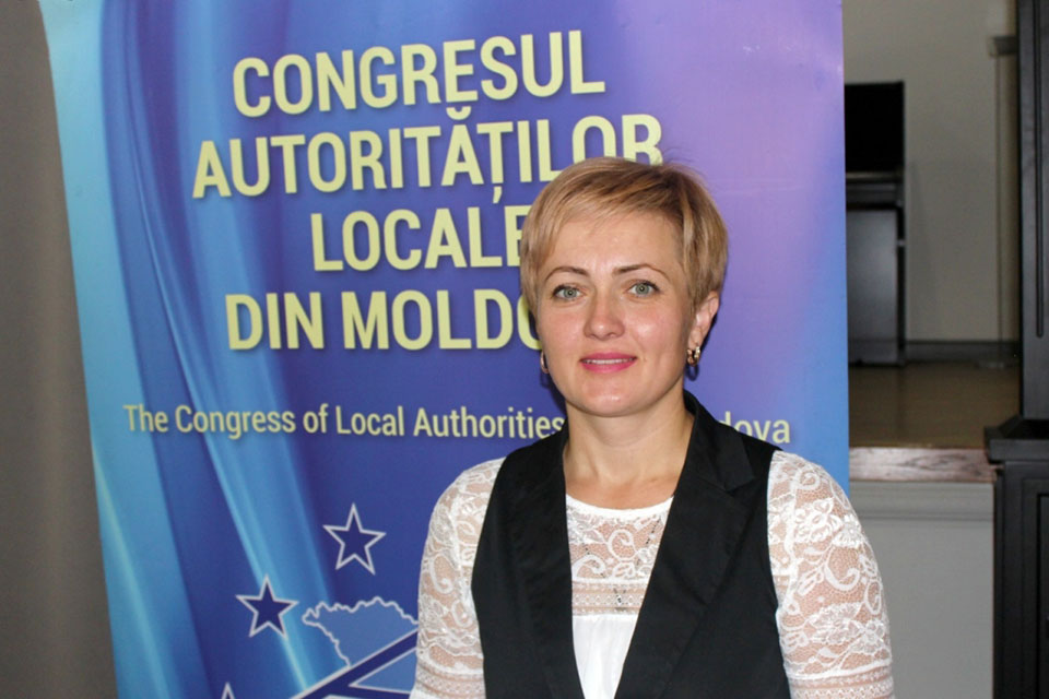 Maria Galit is the third consecutive woman mayor of Sarata Veche, a rural commune in Falesti district.