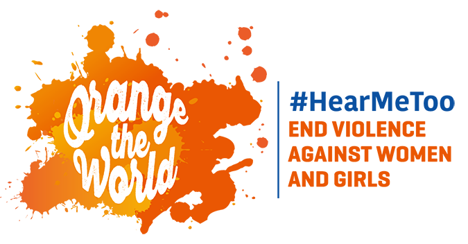 Orange the World: #HearMeToo, end violence against women and girls