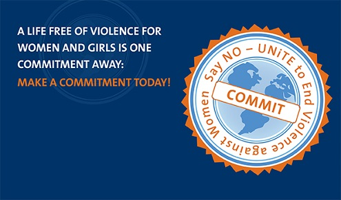 A life free of violence for women and girls is one commitment away